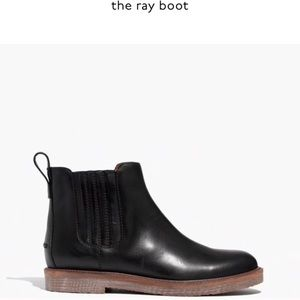 Madewell The Ray Boot (leather)